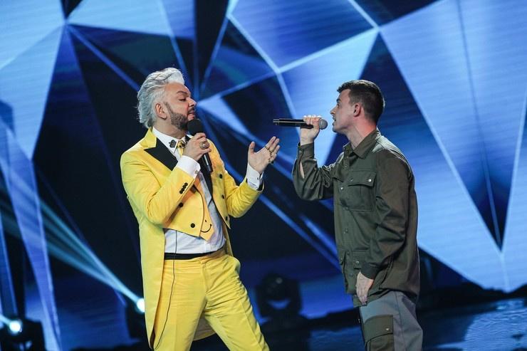 Перед уходом с шоу Кирилл спел вместе с Киркоровым