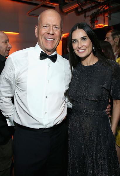 С другим бывшим мужем Брюсом Уиллисом актриса сохранила хорошие отношения
