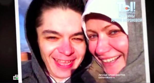 Барановский хранит снимки с актрисой