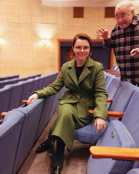 Евгения Вагановича нечасто увидишь в блоге Татьяны