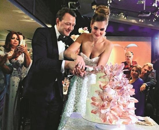 Башаров и Шевыркова сыграли свадьбу 9 сентября 2017 года в Москве