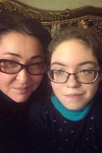 Лолита Милявская с дочерью Евой
