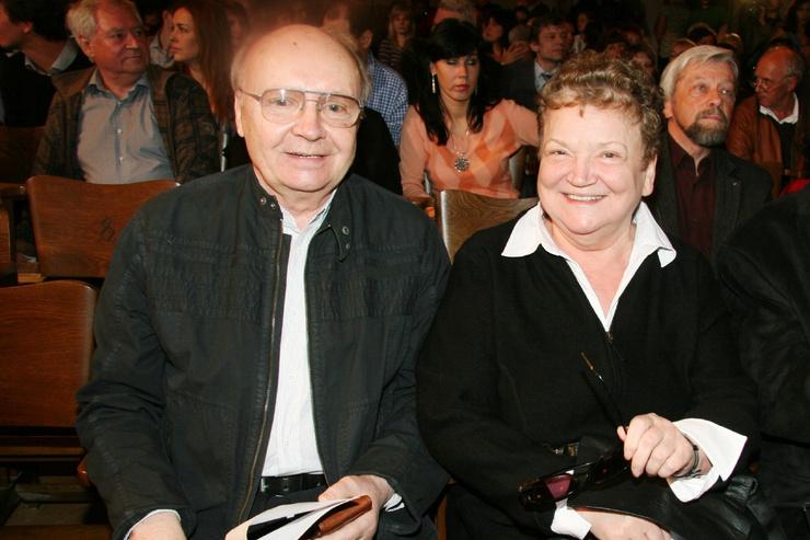 Андрей Мягков и Анастасия Вознесенская
