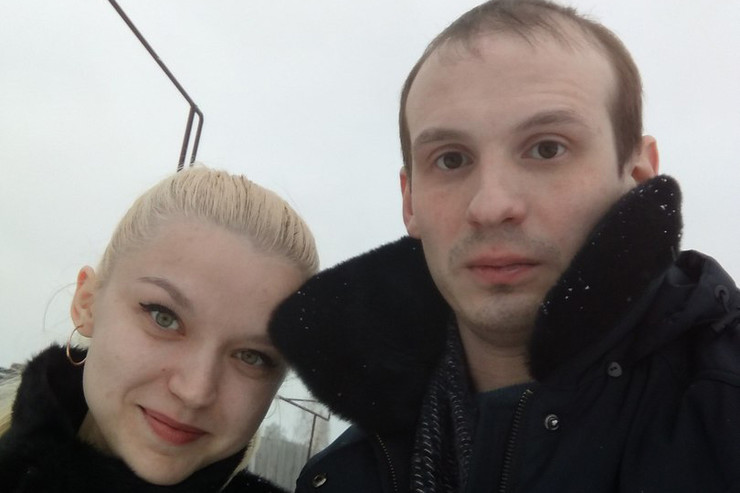 Илья с Екатериной, сестрой Сергея