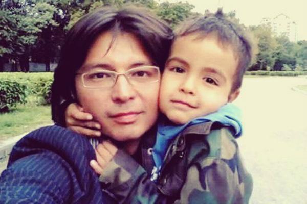 Мурат Насыров с сыном