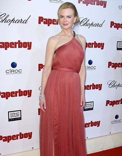 Николь Кидман в нежно-розовом - один из лучших образов австралийской актрисы