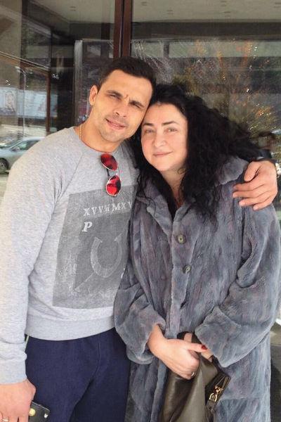 Лолита с мужем Дмитрием