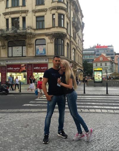Сергей и Дарья в восторге от города