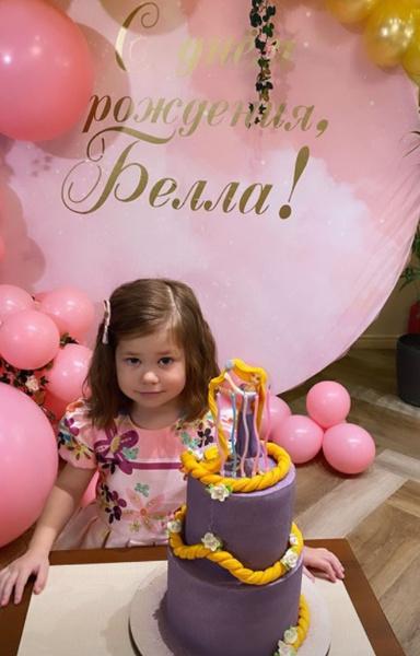Екатерина Климова отметила первый юбилей младшей дочери с Гелой Месхи