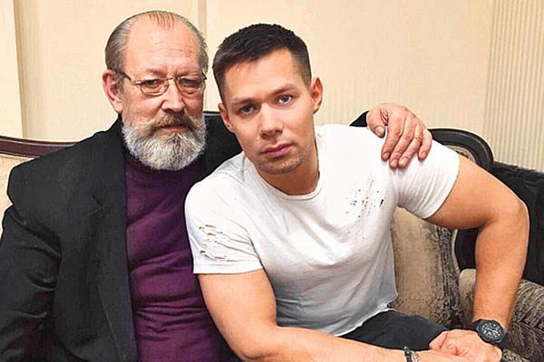 Спустя много лет после развода Пятрас Герулис возобновил общение с сыном