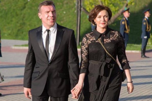 Олег с супругой Мариной