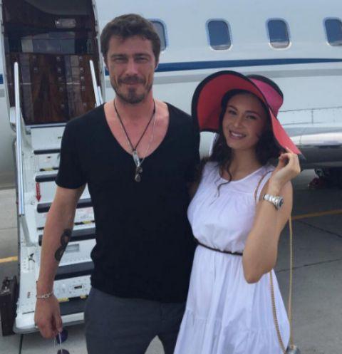 Марат Сафин с Аидой проводит время во Франции