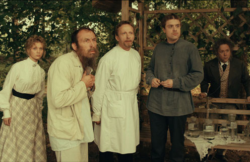 Главные герои предстанут  в костюмах XIX века, а доктор Быков даже внешне будет напоминать Чехова
