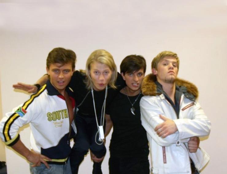 Слева направо: Прохор Шаляпин, Роман Архипов, Дмитрий Колдун, Арсений Бородин