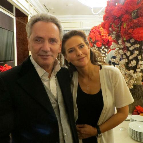 Владимир Киселев  и Елена Север