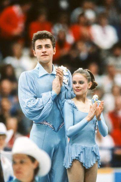 Вместе с Гриньковым Гордеева стала двукратной чемпионкой Олимпийских игр