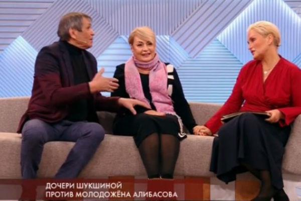 Бари Алибасов и дочери Лидии Федосеевой-Шукшиной