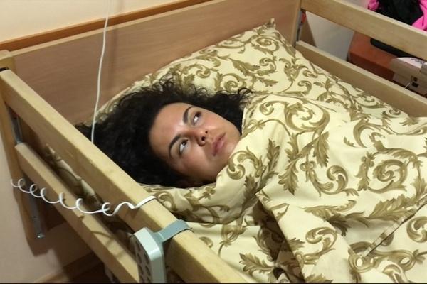 Настя Каменских после операции