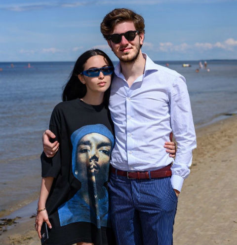 Сарина Турецкая и Торнике Церцвадзе