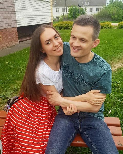 Мария Адоевцева с мужем