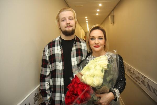Татьяна Буланова со старшим сыном Александром