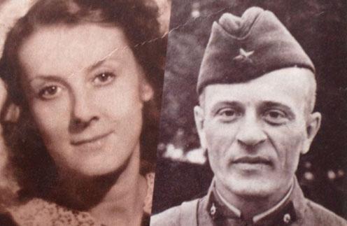 Дедушка и бабушка Анны Тереховой, родители Маргариты Тереховой