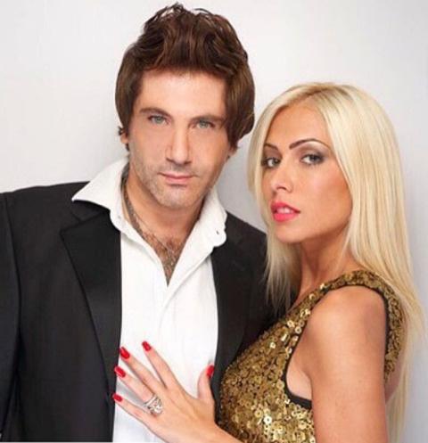 Авраам Руссо с женой Морелой