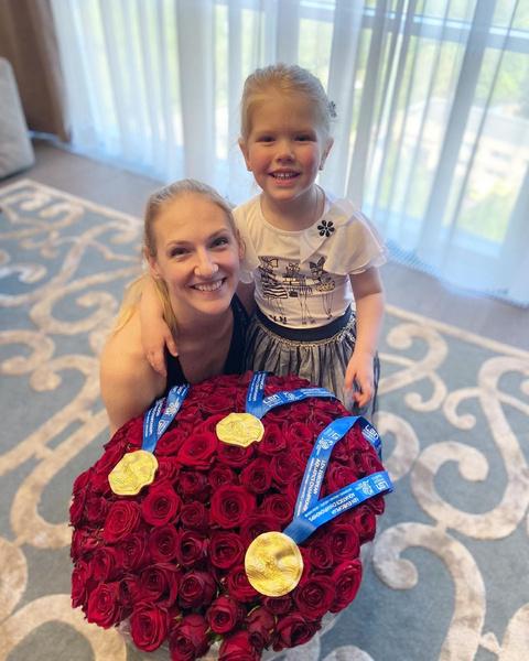 Во время соревнований Светлана больше всего скучает по дочери