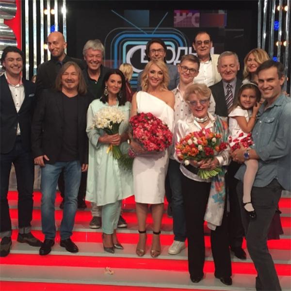 Друзья и близкие Кристины Орбакайте на программе «Сегодня вечером»