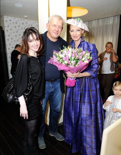Татьяна и Михаил Зайц с Илзе Лиепа