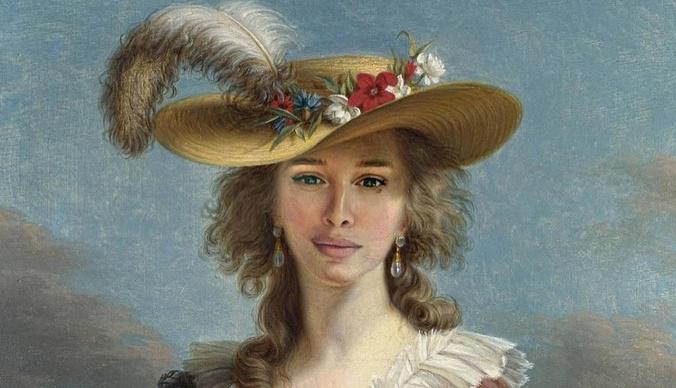 Новый тренд: Бородина в образе средневековой дамы, а Решетова – императрицы