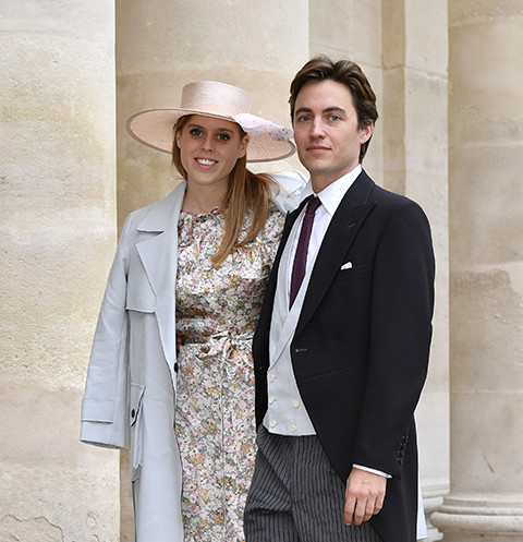 Британская принцесса вышла замуж ввинтажном одеяние  ЕлизаветыII
