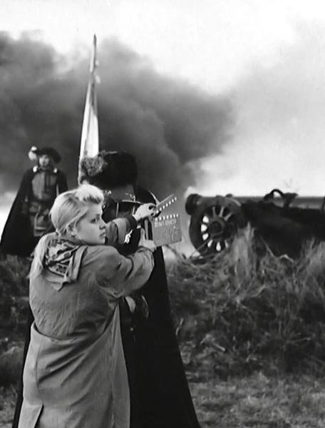 Съемки батальных сцен занимали особое место в фильмах