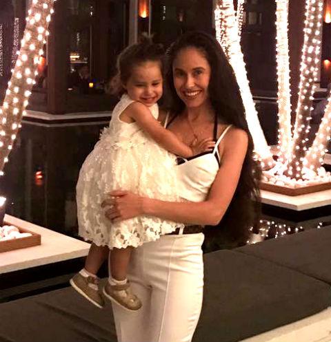 Илана Юрьева с дочерью Дианой