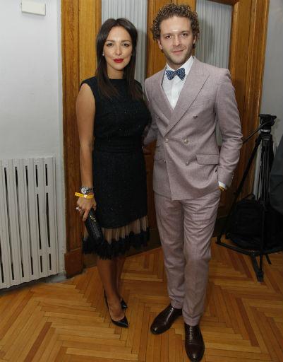 Константин Крюков с женой Алиной Алексеевой