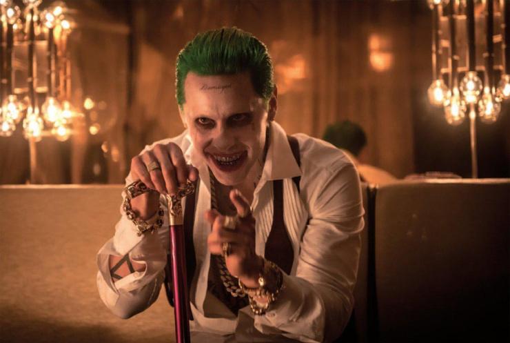 Двойник Джареда Лето? Даня Милохин перевоплотился в Джокера из «Отряда самоубийц»