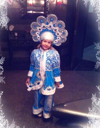 Дочка певицы ГлюкоZы в этот новый год будет Снегурочкой